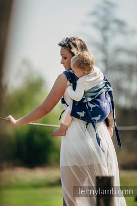 Lenny Buckle Onbuhimo Tragehilfe, Größe Toddler, Jacquardwebung (65% Baumwolle, 35% Seide) - LARINA