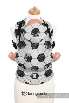 Ergonomic Carrier, Toddler Size, jacquard weave 100% cotton - wrap conversion from FAIR PLAY - Second Generation