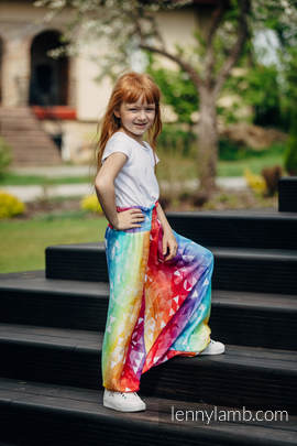 LennyAladdin bamboo for kids - size 110 - SWALLOWS RAINBOW LIGHT