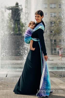Baby Wrap, Jacquard Weave (65% cotton, 35% linen) -  SYMPHONY PURE JOY - size XL (grade B)