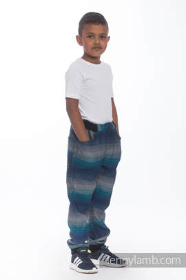 LennyJogger - size 104 - Little Herringbone Illusion