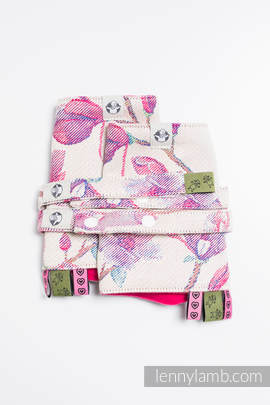 Drool Pads & Reach Straps Set, (100% cotton) - MAGNOLIA