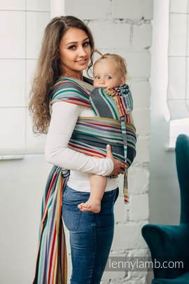 Nosidełko dla dzieci WRAP-TAI TODDLER, 100 % bawełna skośno-krzyżowa, z kapturkiem - OAZA