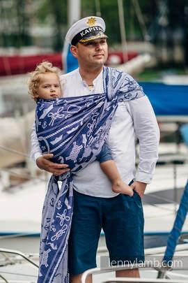 Baby Wrap, Jacquard Weave (100% cotton) - SEA STORIES - size S