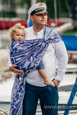 Baby Wrap, Jacquard Weave (100% cotton) - SEA STORIES - size M