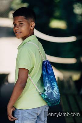 Plecak/worek - 100% bawełna - TAJEMNICZA DOLINA - rozmiar uniwersalny 32cm x 43cm