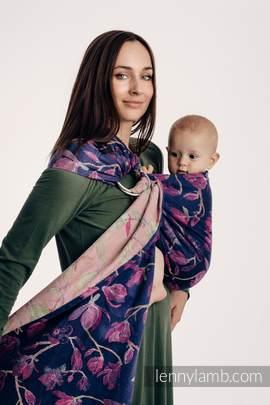 Ringsling, Jacquard Weave (100% cotton) - THE SECRET MAGNOLIA