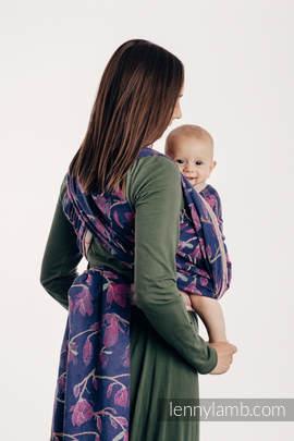 Baby Wrap, Jacquard Weave (100% cotton) - THE SECRET MAGNOLIA - size S