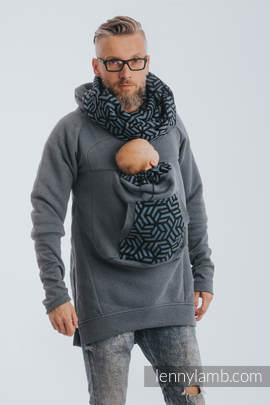 Babywearing Sweatshirt 3.0 - Jeans with Kyanit - size S