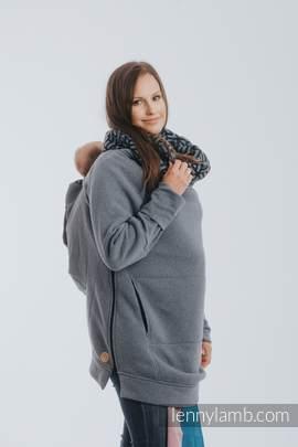Babywearing Sweatshirt 3.0 - Jeans with Kyanit - size M