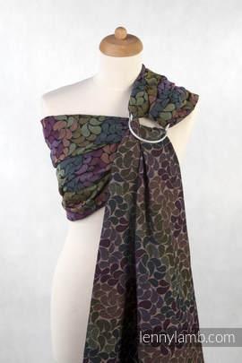 Ringsling, Jacquard Weave (100% cotton) - COLORS OF RAIN