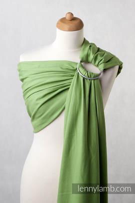 Ringsling, Diamond Weave (100% cotton) - Green Diamond