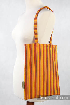 Shopping bag made of wrap fabric (100% cotton) - DIAMOND SURY