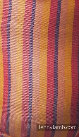 Nosidełko Ergonomiczne z tkaniny skośnokrzyżowej 60% bawełna 40% bambus, Baby Size, DIUNA